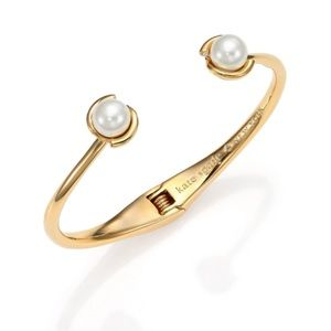 EUC Kate Spade Dainty Sparklers Pearl Cuff